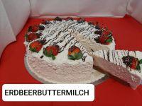 Erdbeerbuttermilch