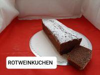 Rotweinkuchen